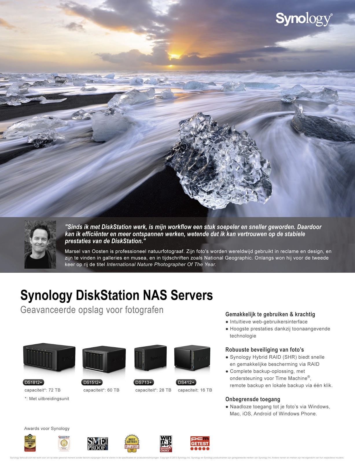 Synology Advertentie