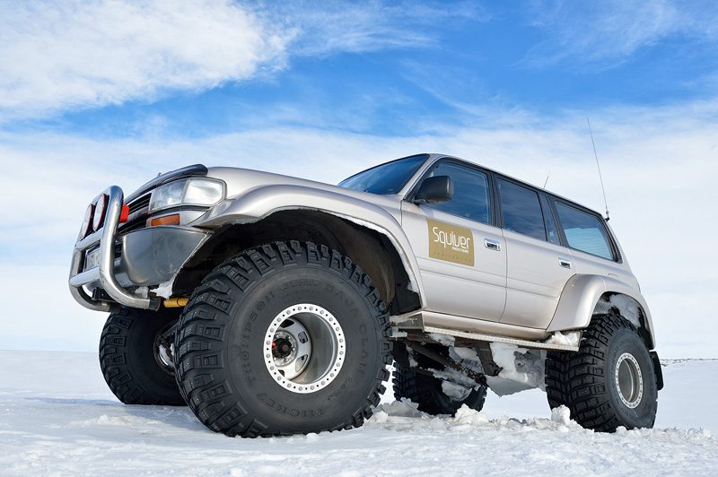Squiver Super Jeep in Iceland.