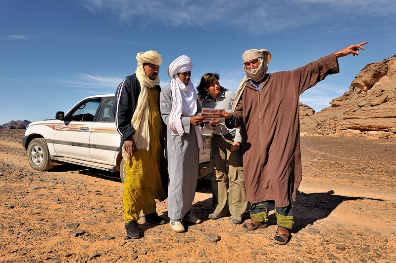 Scouting for a new photo tour in Libya.